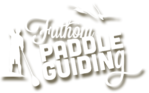 Fathom Paddle Guiding homepage...